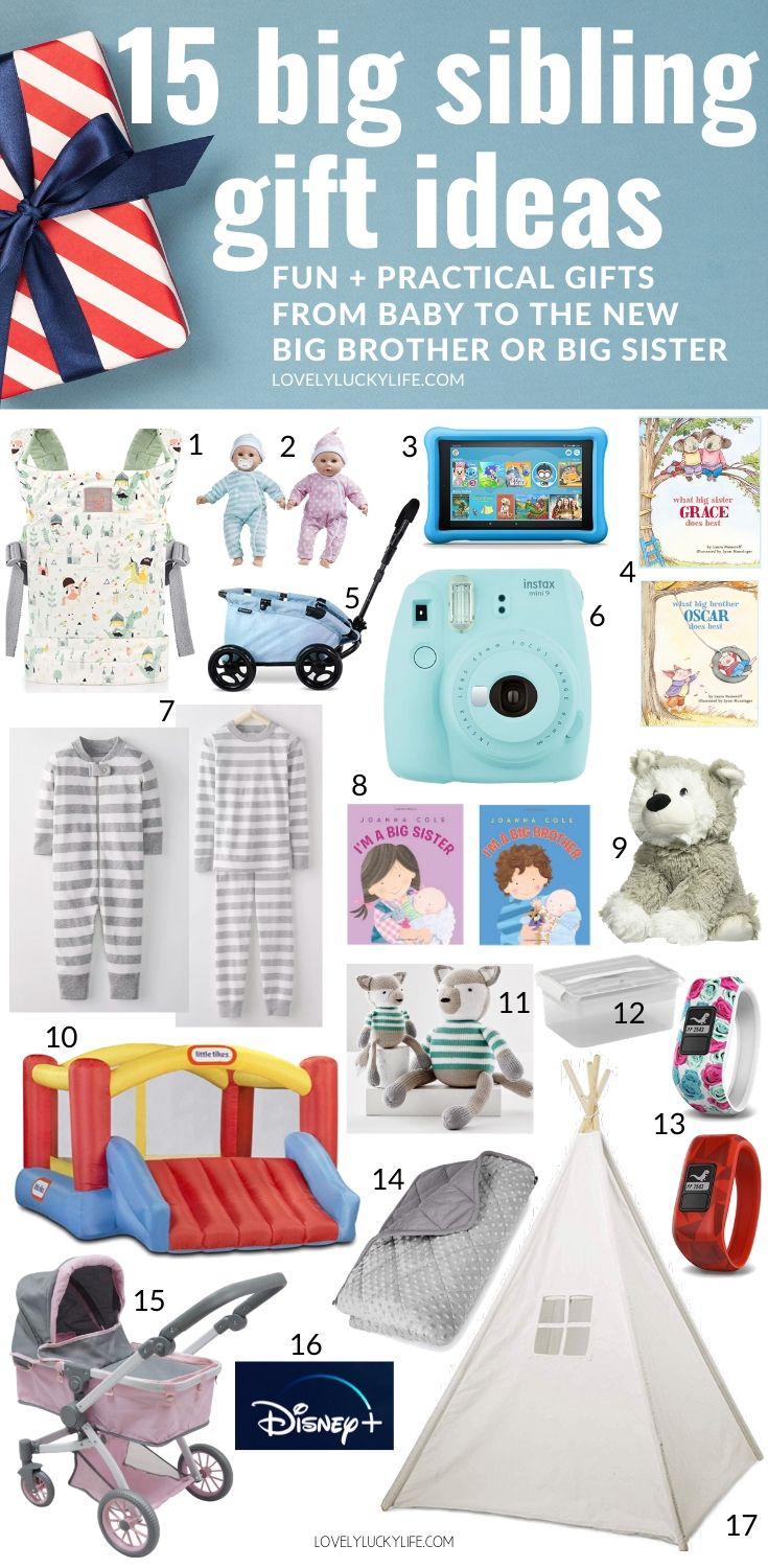 15 New Sibling Gift Ideas Big Brother Big Sister Gift Ideas