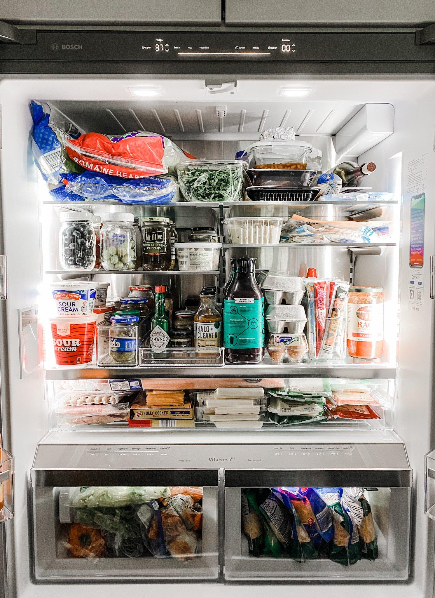 family-friendly fridge from Bosch