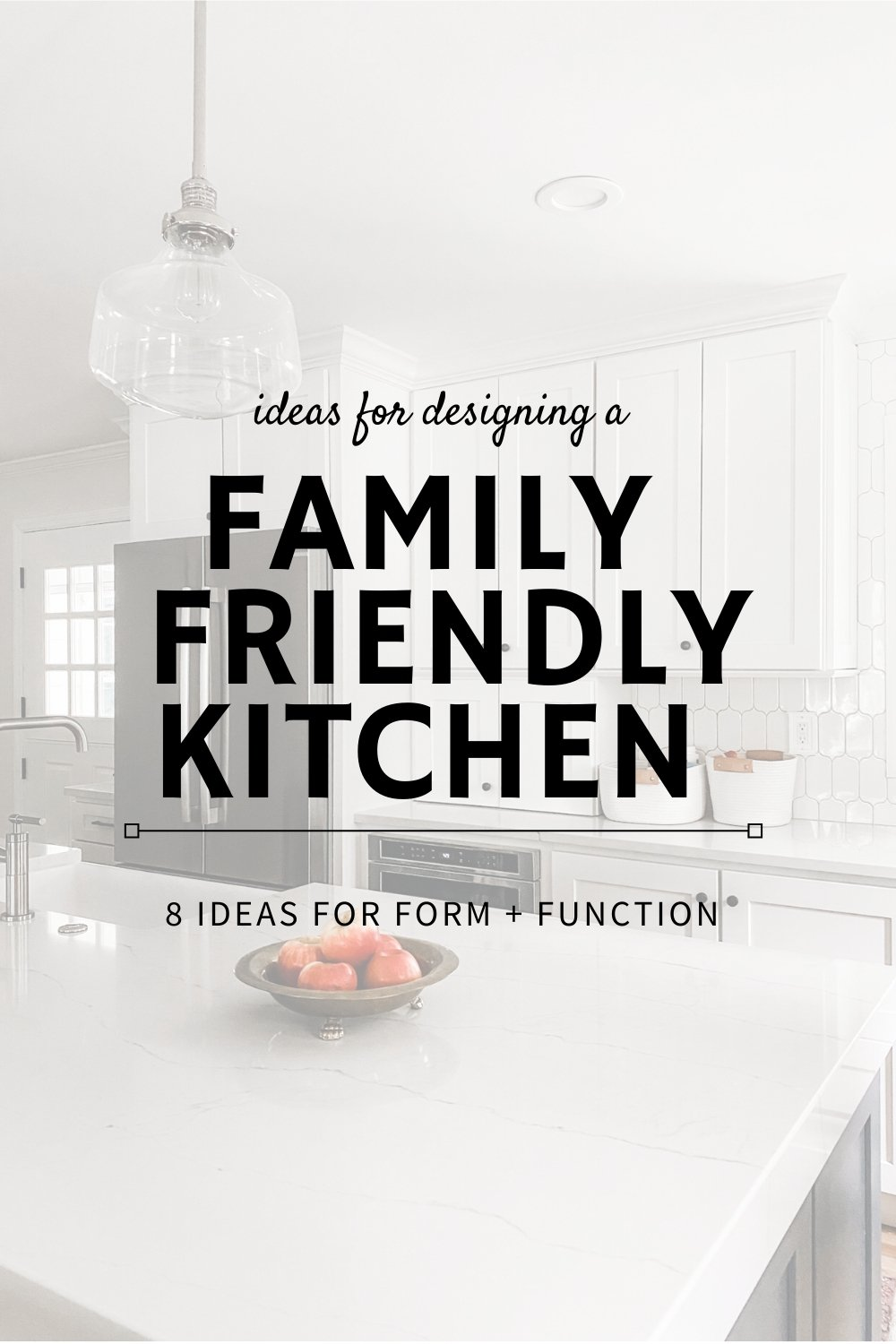 family kitchen ideas from a mom of 4