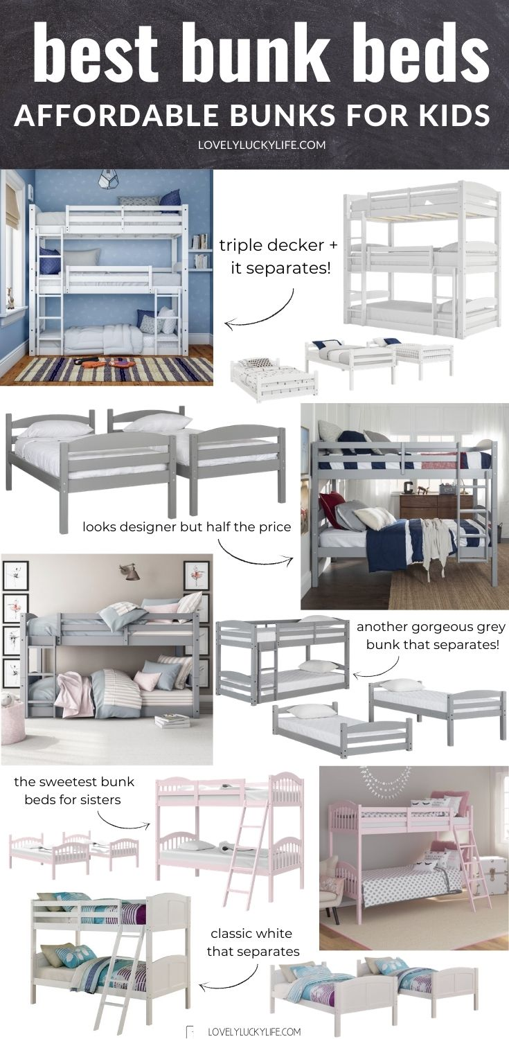 roundup of bunk beds for kids
