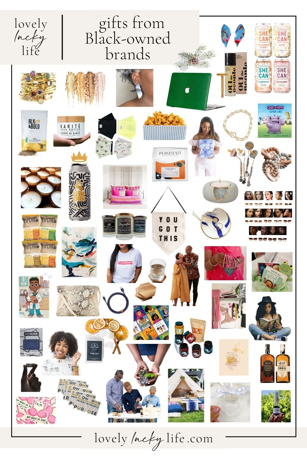 Black Brands + Small Shops Gift Guide