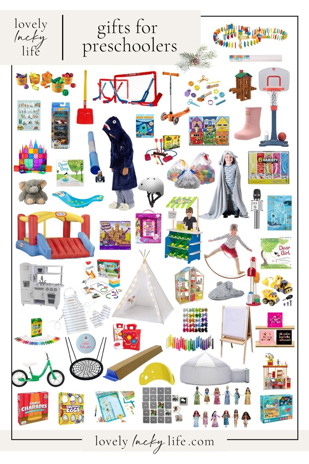 Best Christmas Gifts For Preschoolers 60 Ideas Lovely Lucky Life