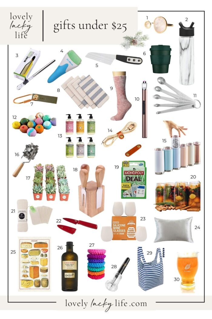 Gifts for Under $25: Neighbors, Coworkers, Stylists, Mail Carriers,  Hostesses, ETC