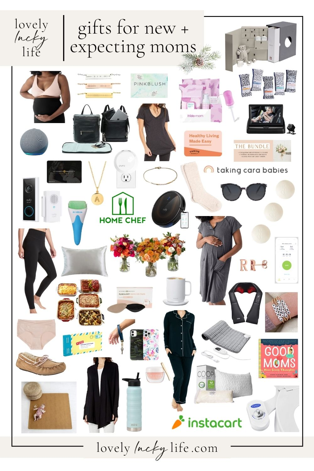Gifts for a New Mom + an Expecting Mom