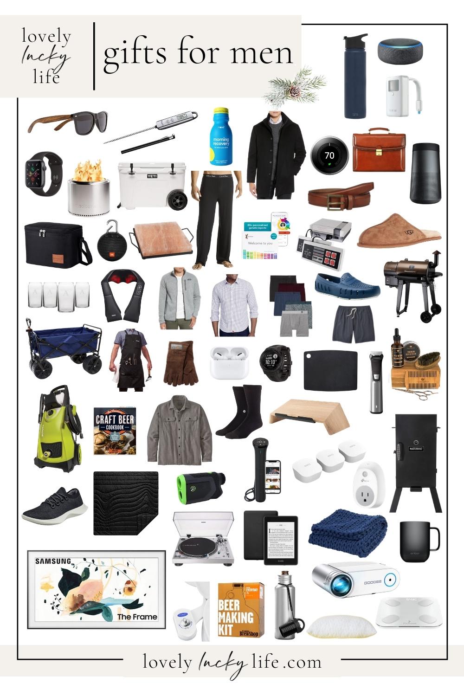 80+ Gift Ideas for Men for Christmas