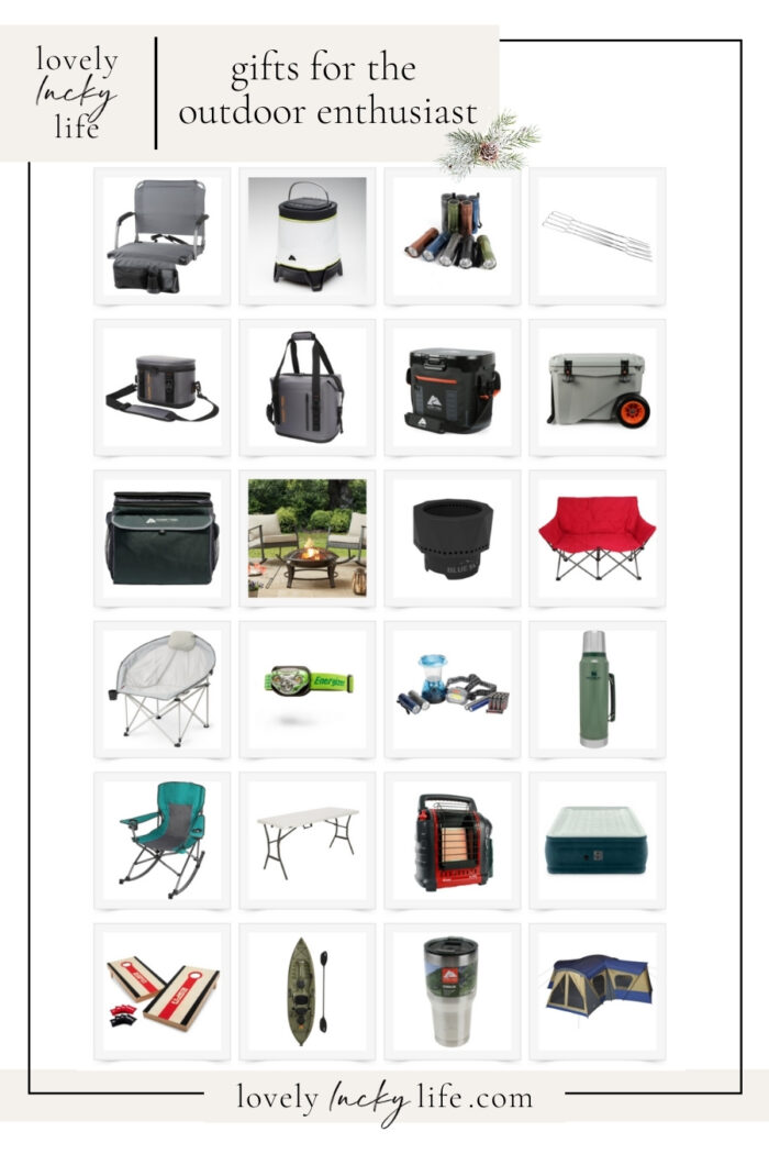 Gift Ideas for the Casual Camper