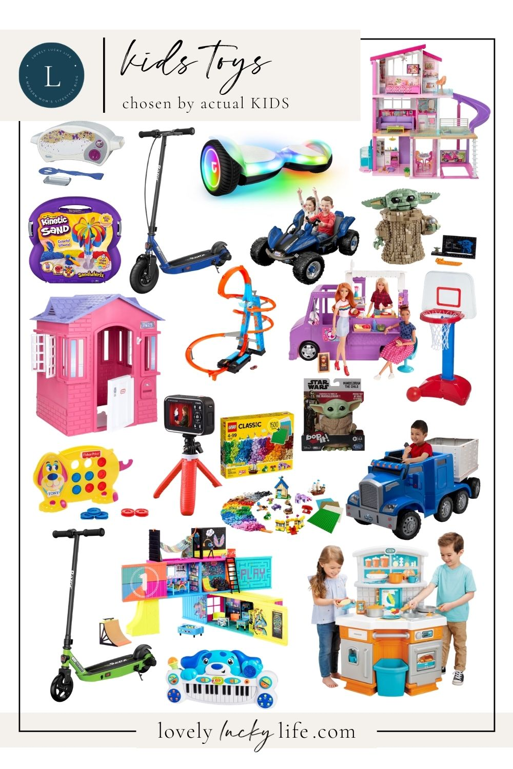 2020 Kids Toys chosen by actual kids