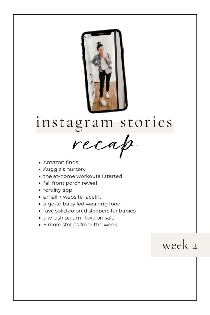 Instagram Stories Recap: Week 2