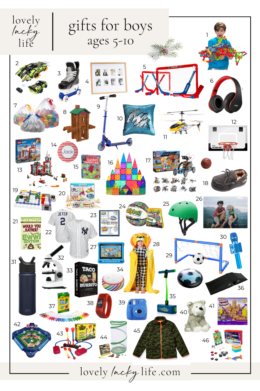60 Christmas Gift Ideas For Boys Lovely Lucky Life