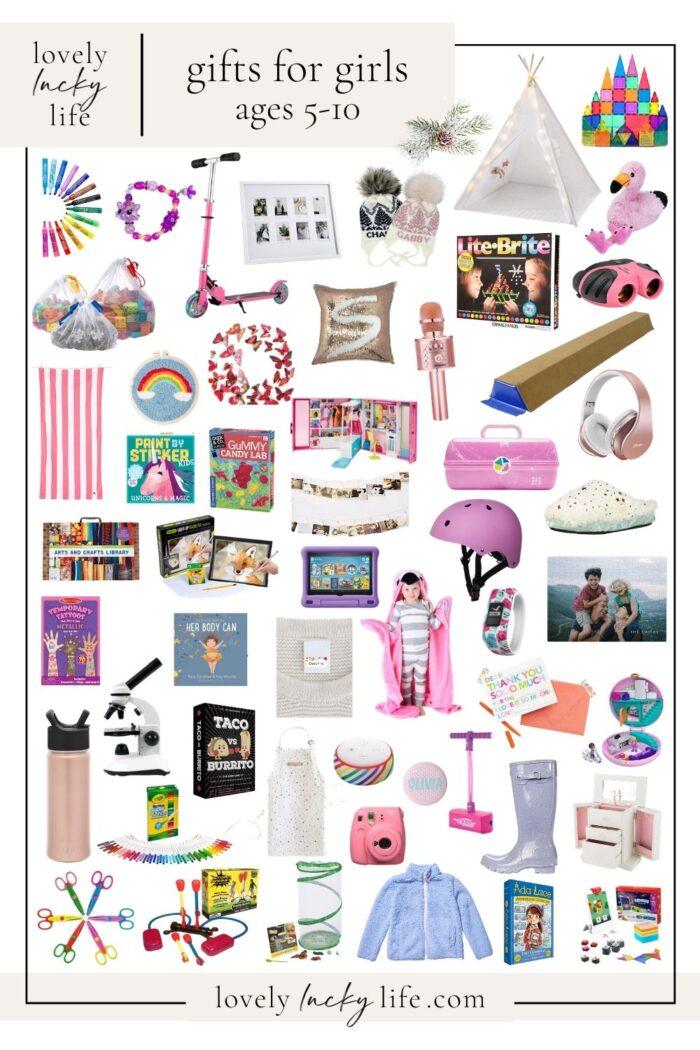 75+ Christmas Gift Ideas + Stocking Stuffers for Girls
