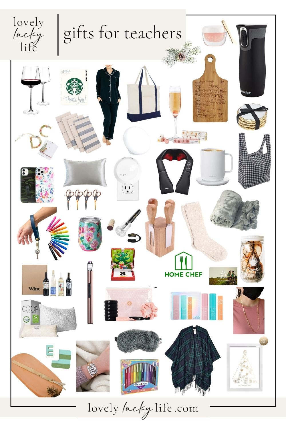 40+ Gifts for Teachers at Christmas