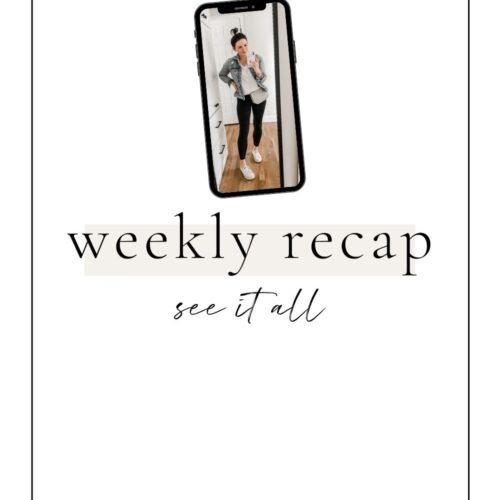 weekly recap lovelyluckylife
