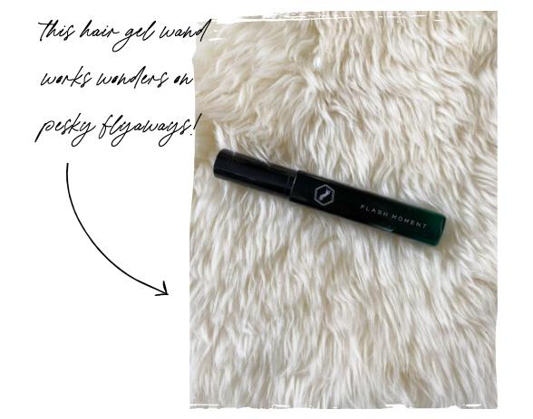 Life Hack for Pesky Flyaways - amazing little hair gel wand!