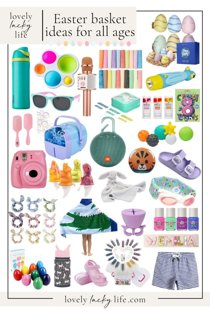 Easter Basket Ideas: Teenagers to Toddlers