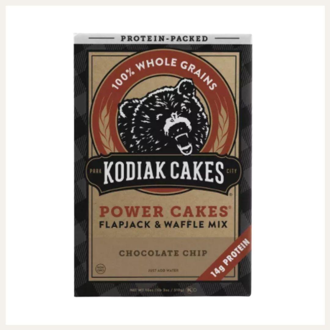 Kodiak Cakes Chocolate Chip Pancake Mix   Currently Eating on LovelyLuckyLife.com