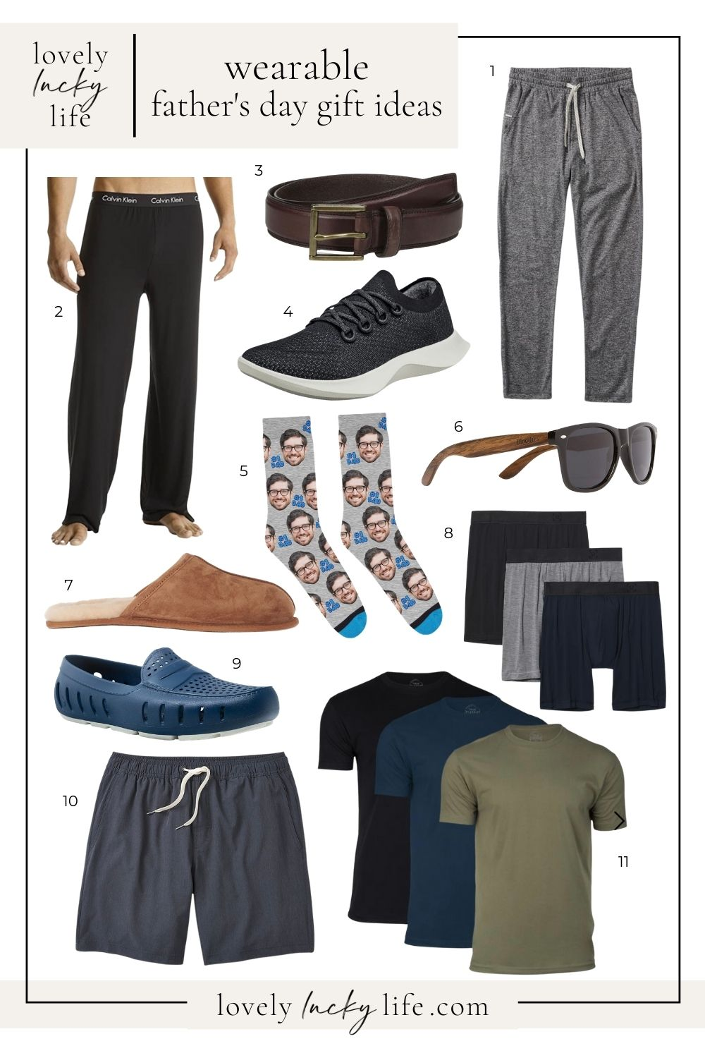 Wearable Gift Ideas for Father's Day on LovelyLuckyLife.com