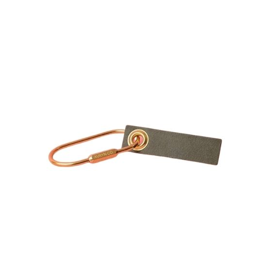 Personalized Leather Key Tag