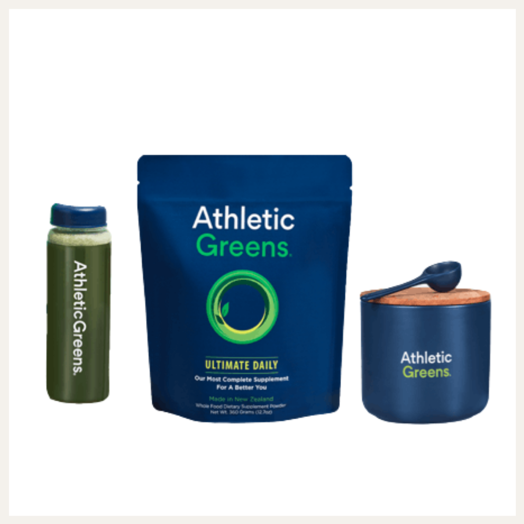 Athletic Greens | Fave Drinks on LovelyLuckyLife.com