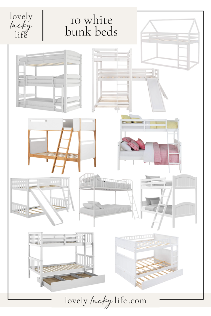 10 of the Best White Bunk Beds